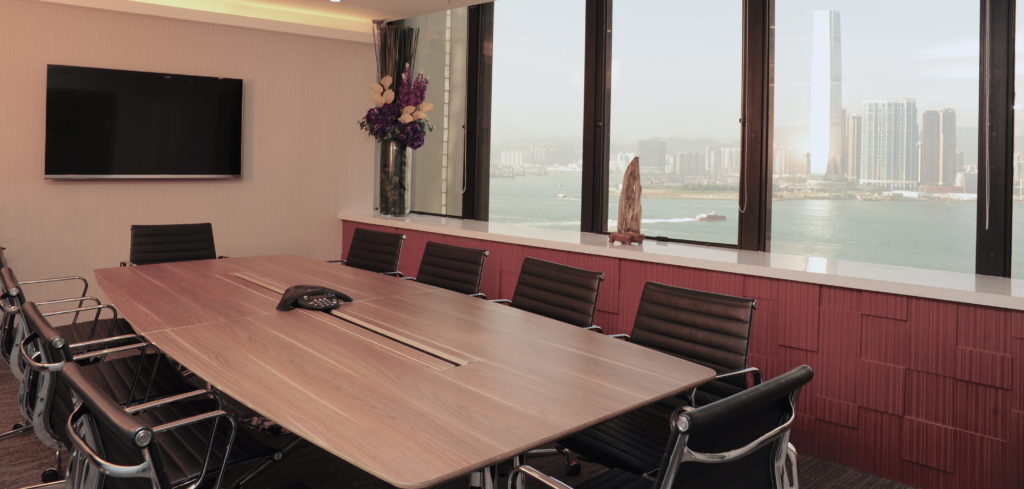 Sea View Meeting Room Overlooking Victoria Harbour